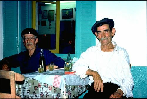 Skiathos 1976 - at the Taverna Mesogia Photo: Otto Leholt
